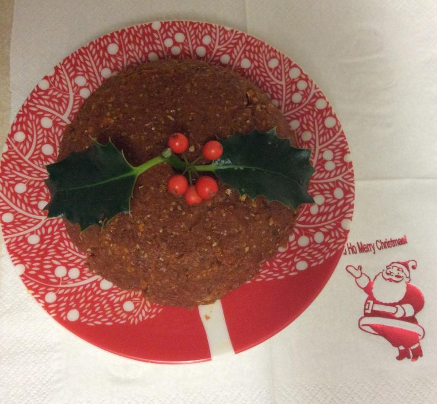 Spiced Fruity Raw Vegan Gluten-Free Christmas Pudding & ChristmasTruffles