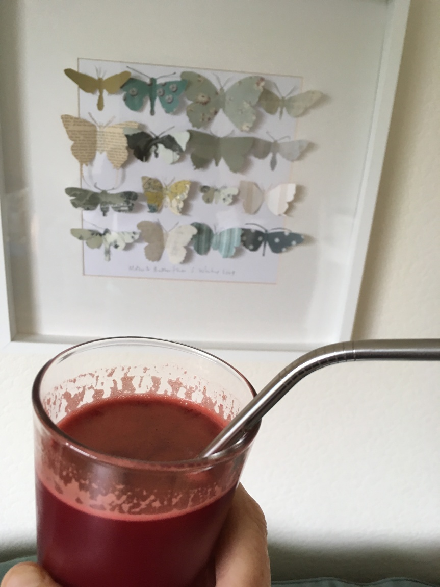 Hot, Hot, Hot Anti-Inflammatory Beetroot & Ginger Juice!
