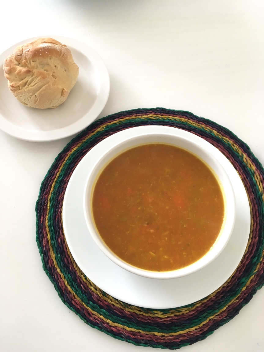 Curried Squash & Leek Soup
